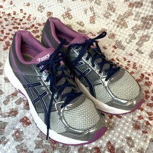 Asics Women Gel Contend 4 Dark Gray Running Shoes